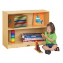 classroom book storage | preschool storage | montessori shelves
