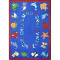 ABC Animals Classroom Rug | Classroom Carpets | Classroom Carpet | Joy Carpets | ABC Rug