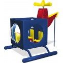 Dramatic Play Outdoor Helicopter