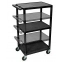Multiple Height AV Cart