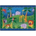 Alphabet Jungle Classroom Rug | Carpets for Kids | ABC Rugs