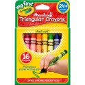 My First Crayola 16ct Triangular