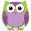 COLORFUL OWL MINI CUT OUTS