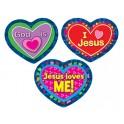 Jesus Loves Me Stickers