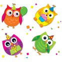 CELEBRATE WITH COLORFUL OWLS