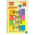 BINDER TABS 8PK ASSORTED COLORS