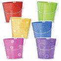 Buckets 6in Designer Cut Outs