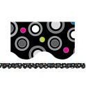 Polka Dot Party Wavy Border
