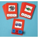 Cvc Word Building Cards 24 Cards
