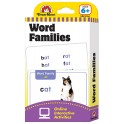 FLASHCARD SET WORD FAMILIES