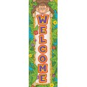 MONKEY WELCOME BANNER