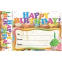 Happy Birthday Cupcakes Bookmark