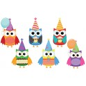 BIRTHDAY OWLS ACCENTS
