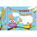 HAPPY BIRTHDAY OWLS BOOKMARK AWARD