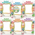 Happy Birthday Cupcakes Frames