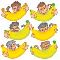 Monkeys With Bananas Accents