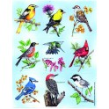 BIRDS GIANT STICKERS