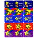STARS SUCCESS STICKERS