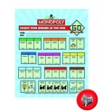 MONOPOLY MINI REWARD CHART
