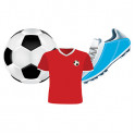 SOCCER ASSORTED CUT OUTS