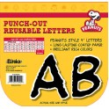 Peanuts Deco Letters Black