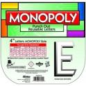 MONOPOLY DECO LETTERS