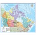 Canada Laminated Map
