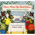 Mary Wore Her Red Dress Book
