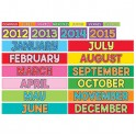 MONTHLY CALENDAR CARDS 12PK
