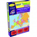MAP SKILLS EUROPE INTERACTIVE WHITE