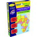 MAP SKILLS AFRICA INTERACTIVE WHITE