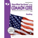 Gr 8 Student Workbook Reading Show
