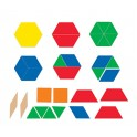GIANT MAGNETIC PATTERN BLOCKS SET