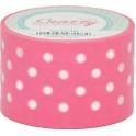 Mavalus Snazzy Pink W/ White Polka