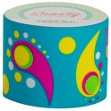 SNAZZY TAPE PAISLEY ON TURQUOISE