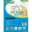 Go Write Dry Erase Sheets 30pk