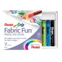 PENTEL 7 COLOR FABRIC FUN DYE