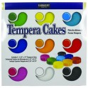 9CT ASST SARGENT ART TEMPERA CAKES