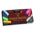 12CT ASSORTED COLOR ARTISTS CHALK