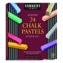 24CT PORTRAIT COLOR ARTISTS CHALK