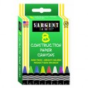 8CT CONSTRUCTION PAPER CRAYON