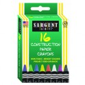 16CT CONSTRUCTION PAPER CRAYON