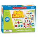 Spin To Learn Colors & Shapes Game