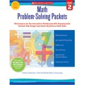 Math Problem Solving Packets Gr 2