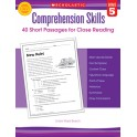 Comprehension Skills Gr 5 40 Short