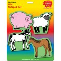 CREATIVE SHAPES NOTEPAD FARM