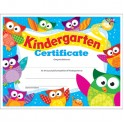 Kindergarten Certificate Owl Stars