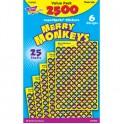 Merry Monkeys Superspots Stickers