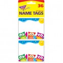 Owl Stars Name Tags