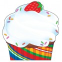 Bake Shop Cupcake Note Pad Shaped